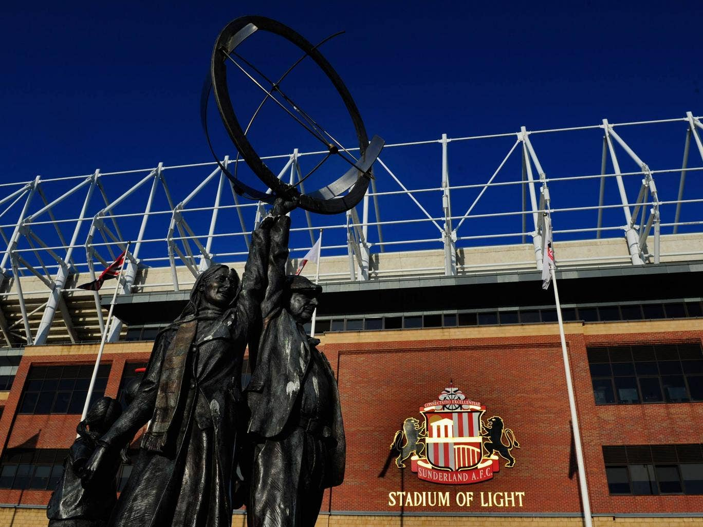 A view of the Stadium of Light