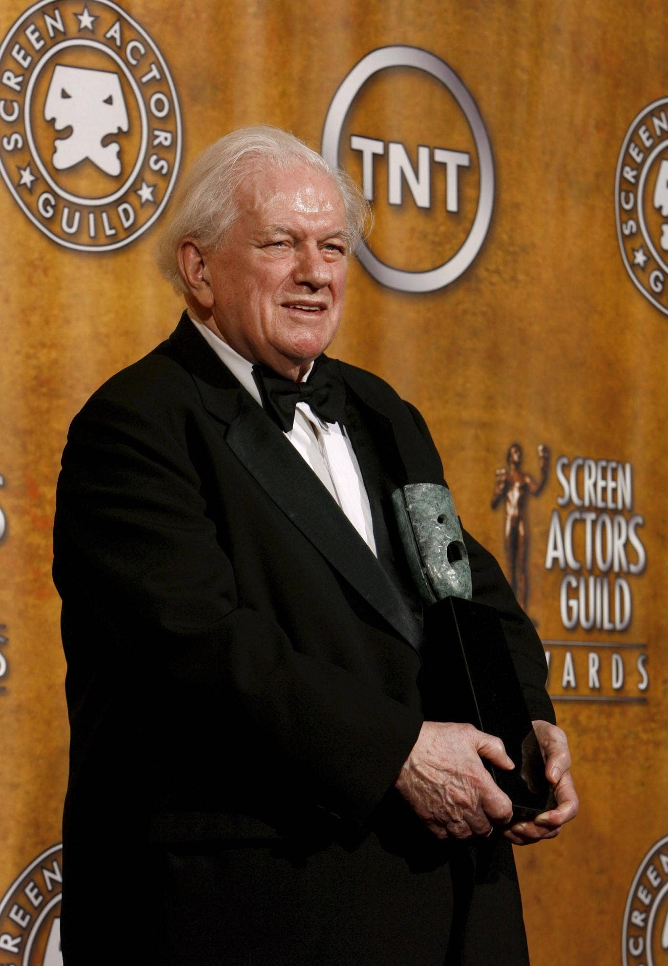 Durning receives one of his many awards, in 2008