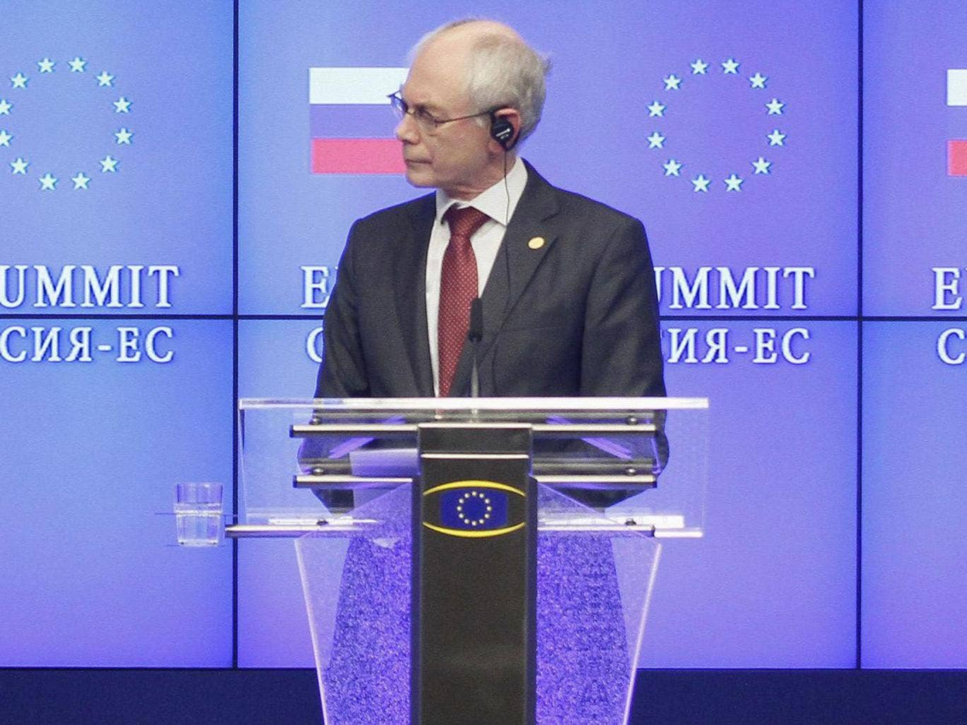 European Union president Herman Van Rompuy said the UK's exit from the union would see a 'friend walk off into the desert'