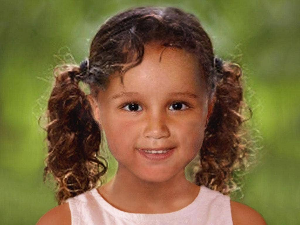 An age progressed photo of how missing girl Atiya Anjum-Wilkinson would look today