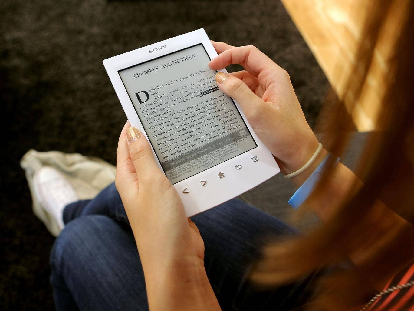 Americans have fallen in love with e-books