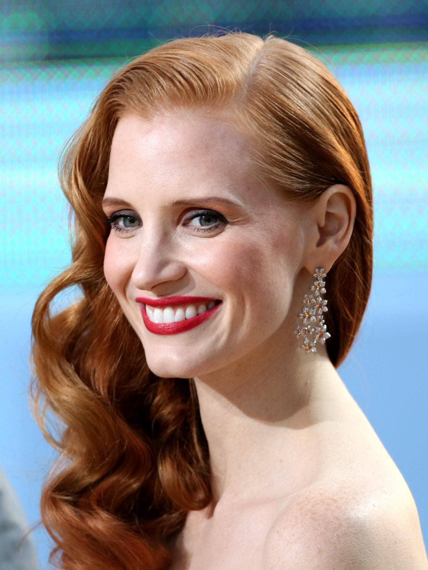 <p>Jessica Chastain is nominated for actress in a leading role for Zero Dark Thirty</p>