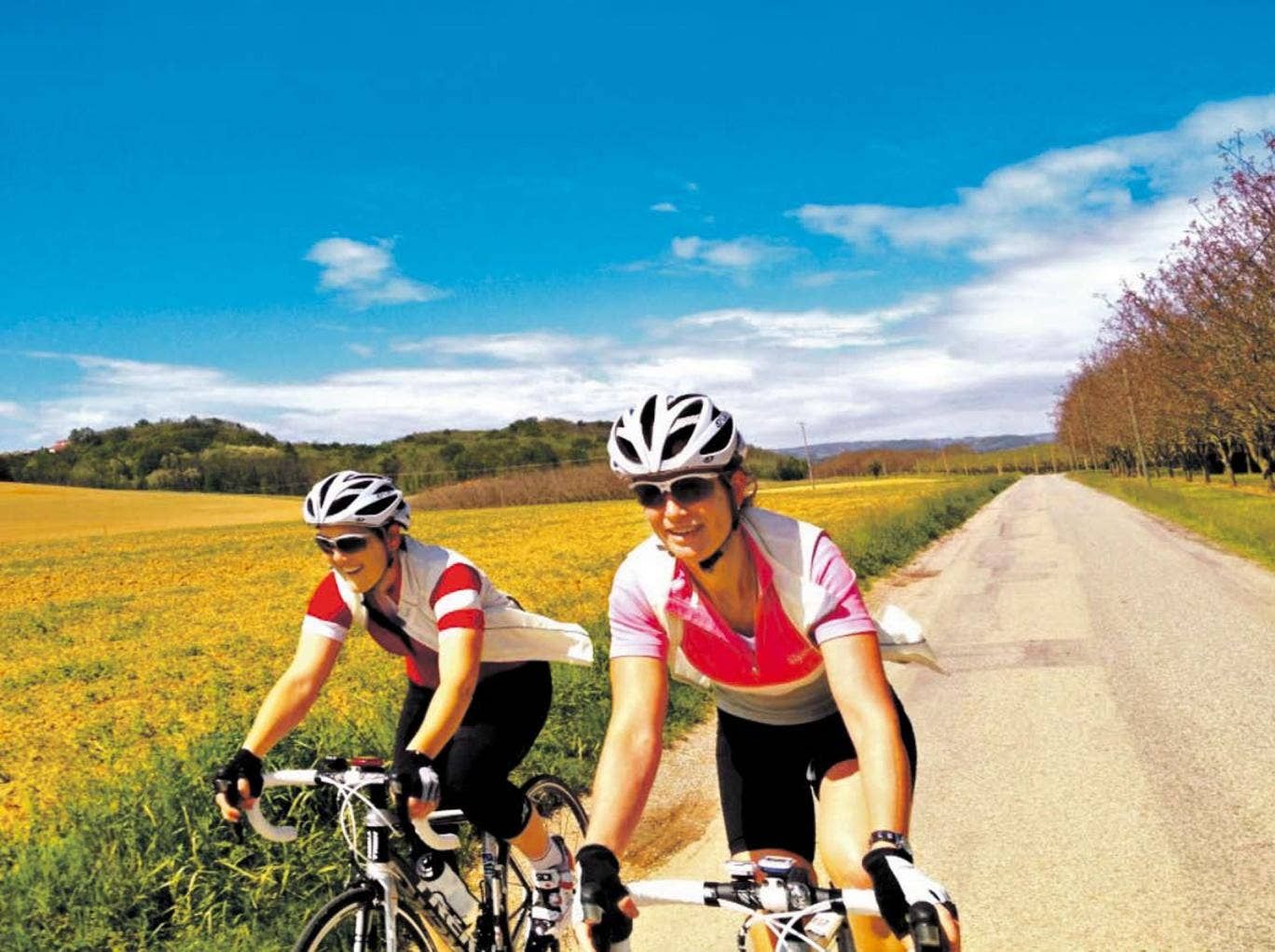 Cycling holidays are ideal for the active traveller