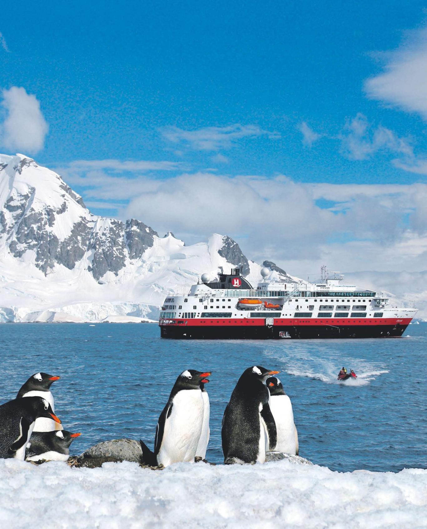 Camp for a night in Antarctica with Hurtigruten
