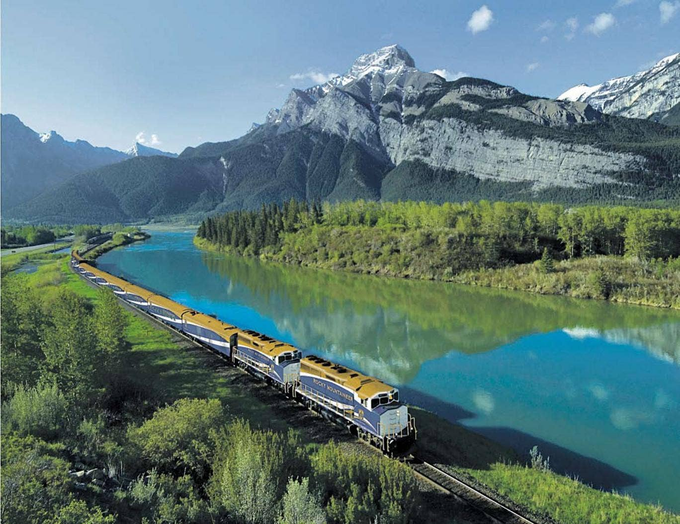 Take a train trip with The Rocky Mountaineer