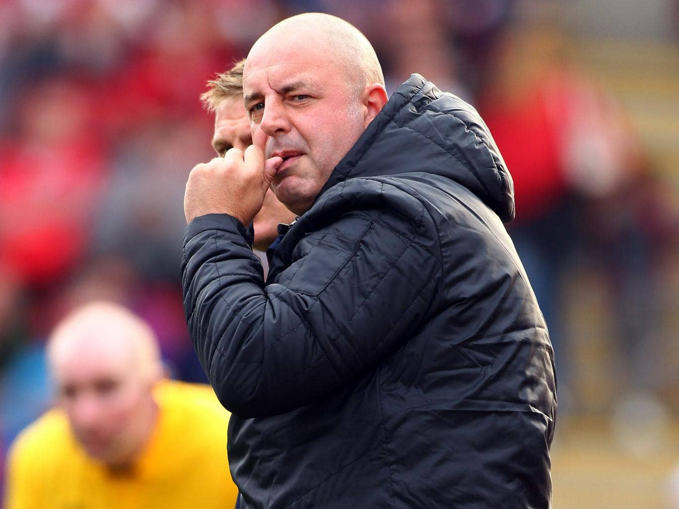 Yorkshire peaked: Keith Hill, removed from Tykes's team