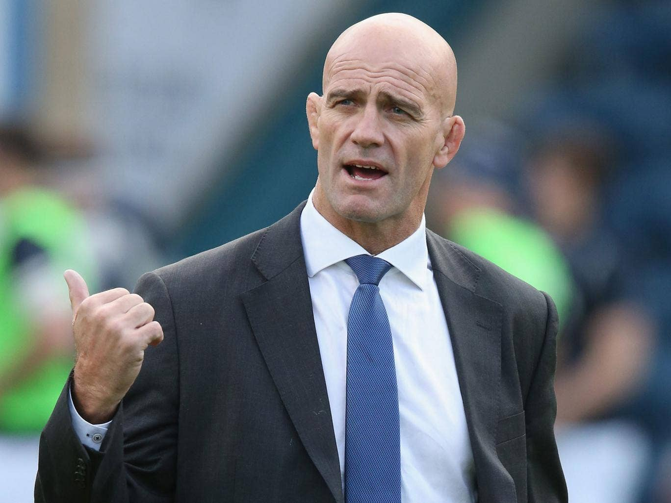 John Mitchell was in charge of Sale for only five matches in a stint that began at the end of November