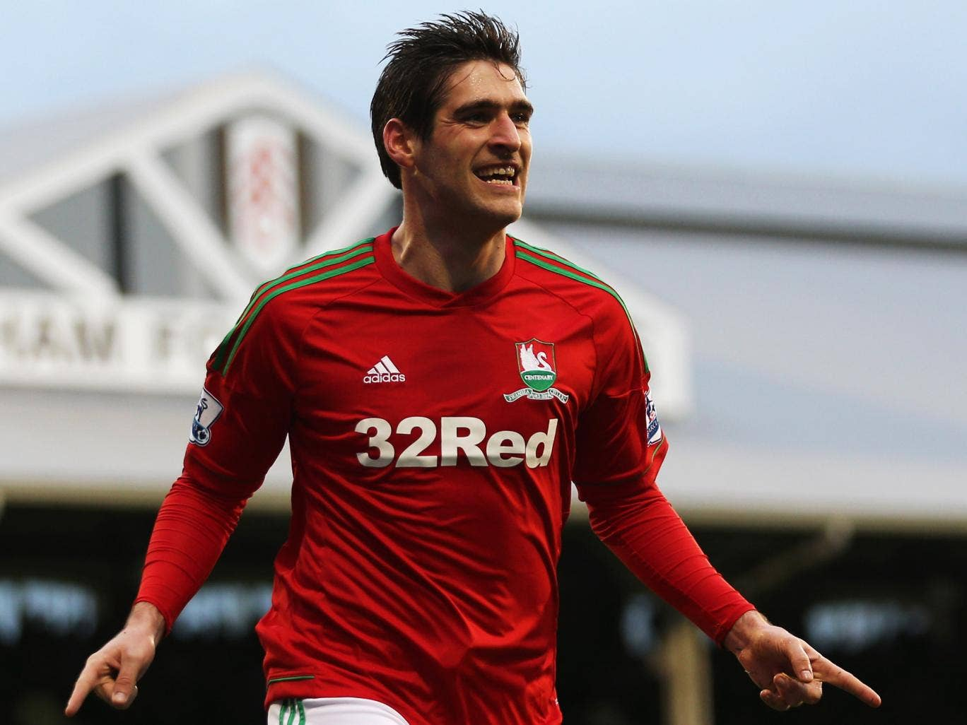 Danny Graham: The striker has been  marginalised by Michu's arrival
