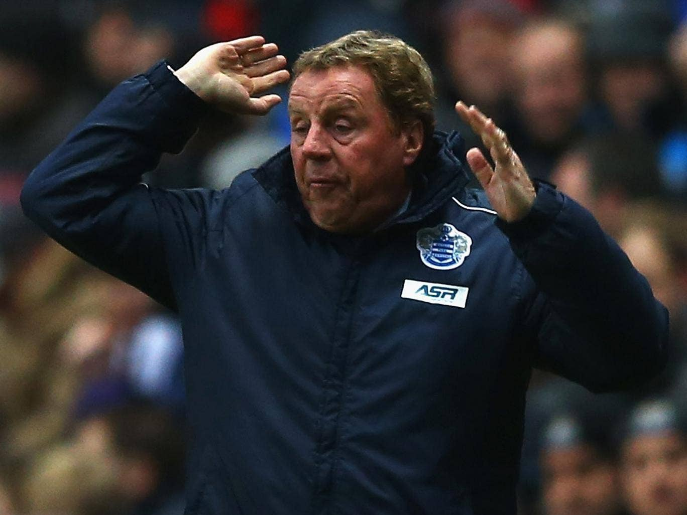 Harry Redknapp: The QPR manager 'only wants positive players around me'
