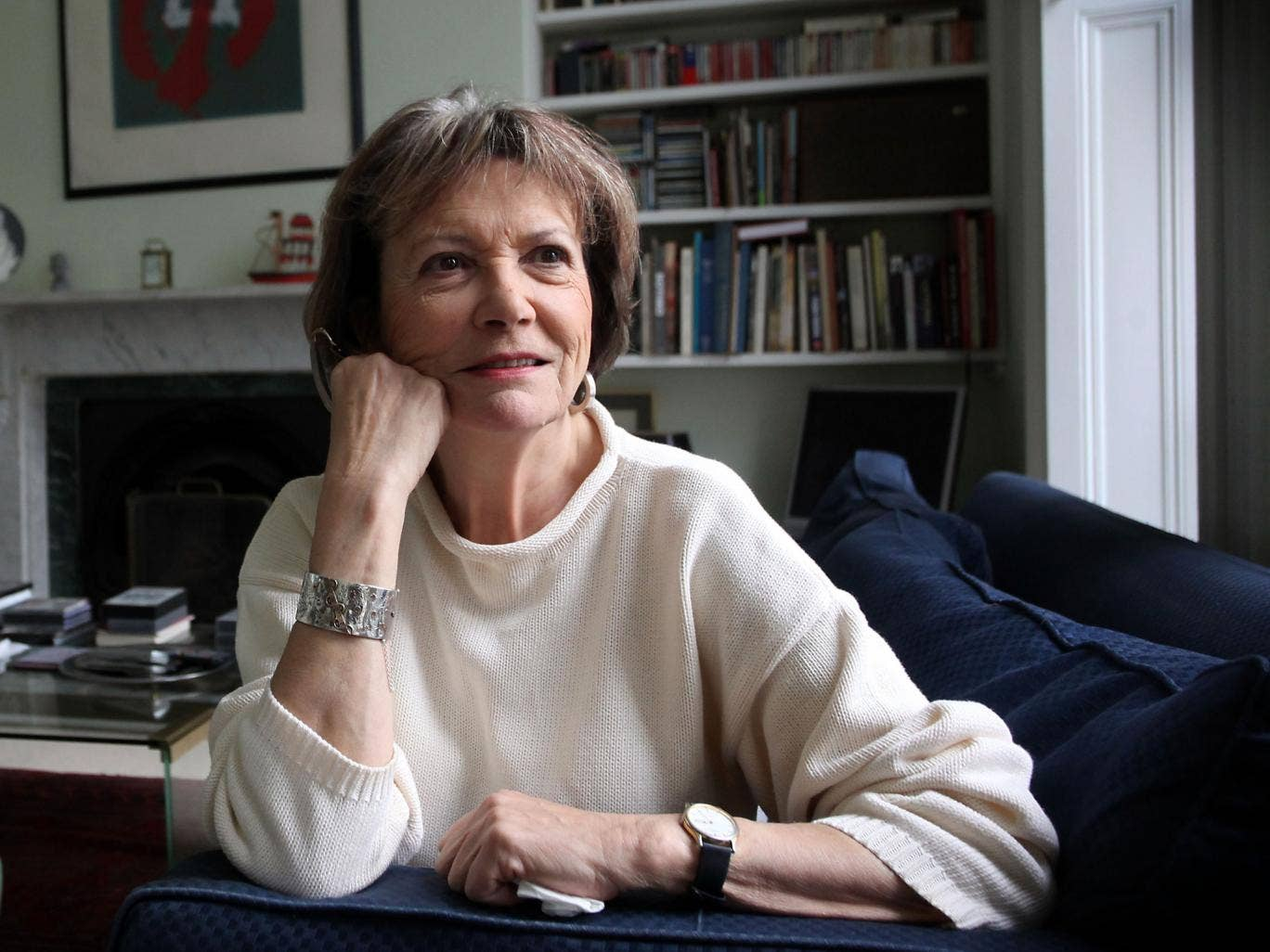 The journalist Joan Bakewell