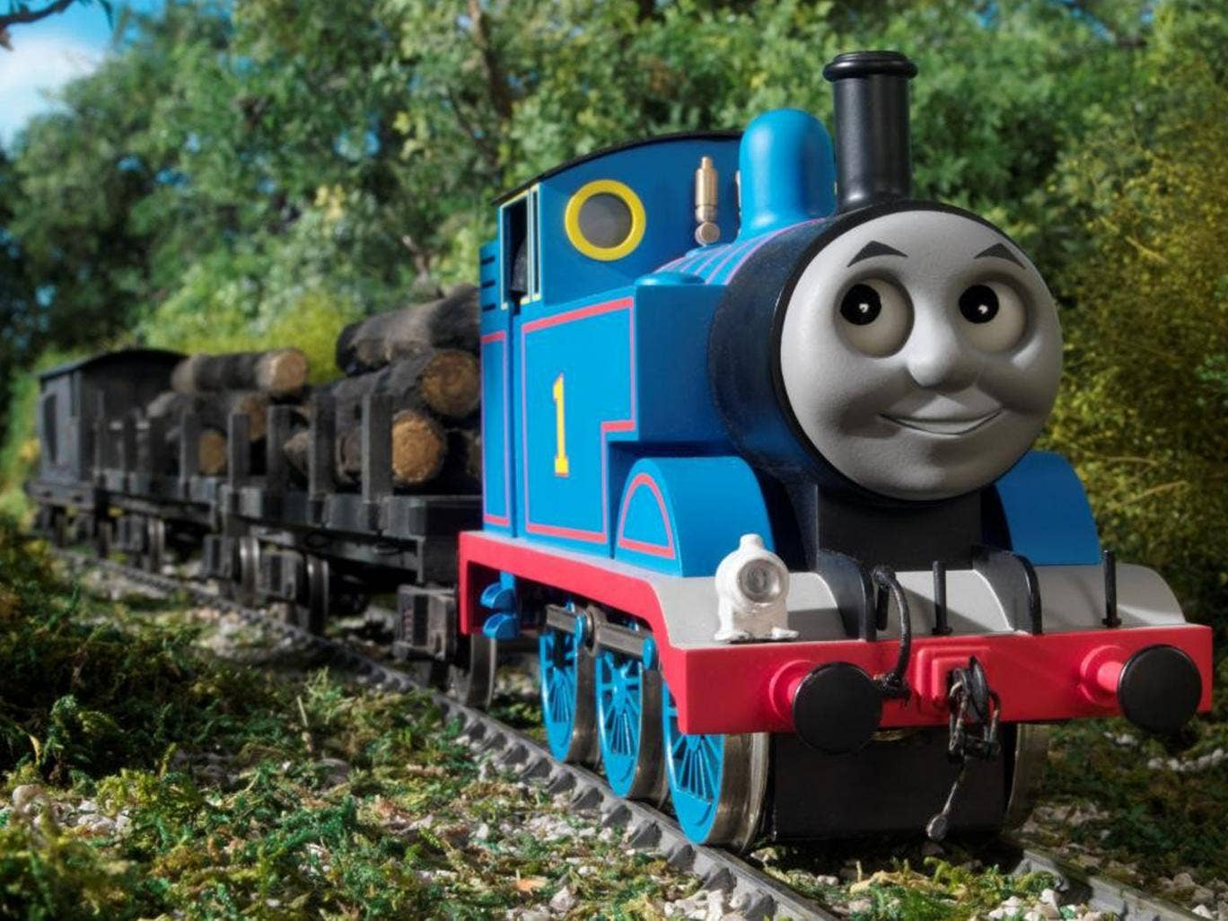 "Thomas the Tank Engine will steam into 2013 as the ""King of the Railway"""