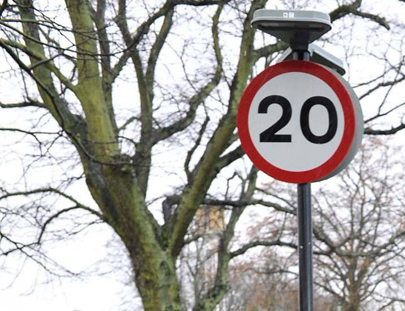 Millions more motorists could soon face reduced speed limits of 20mph