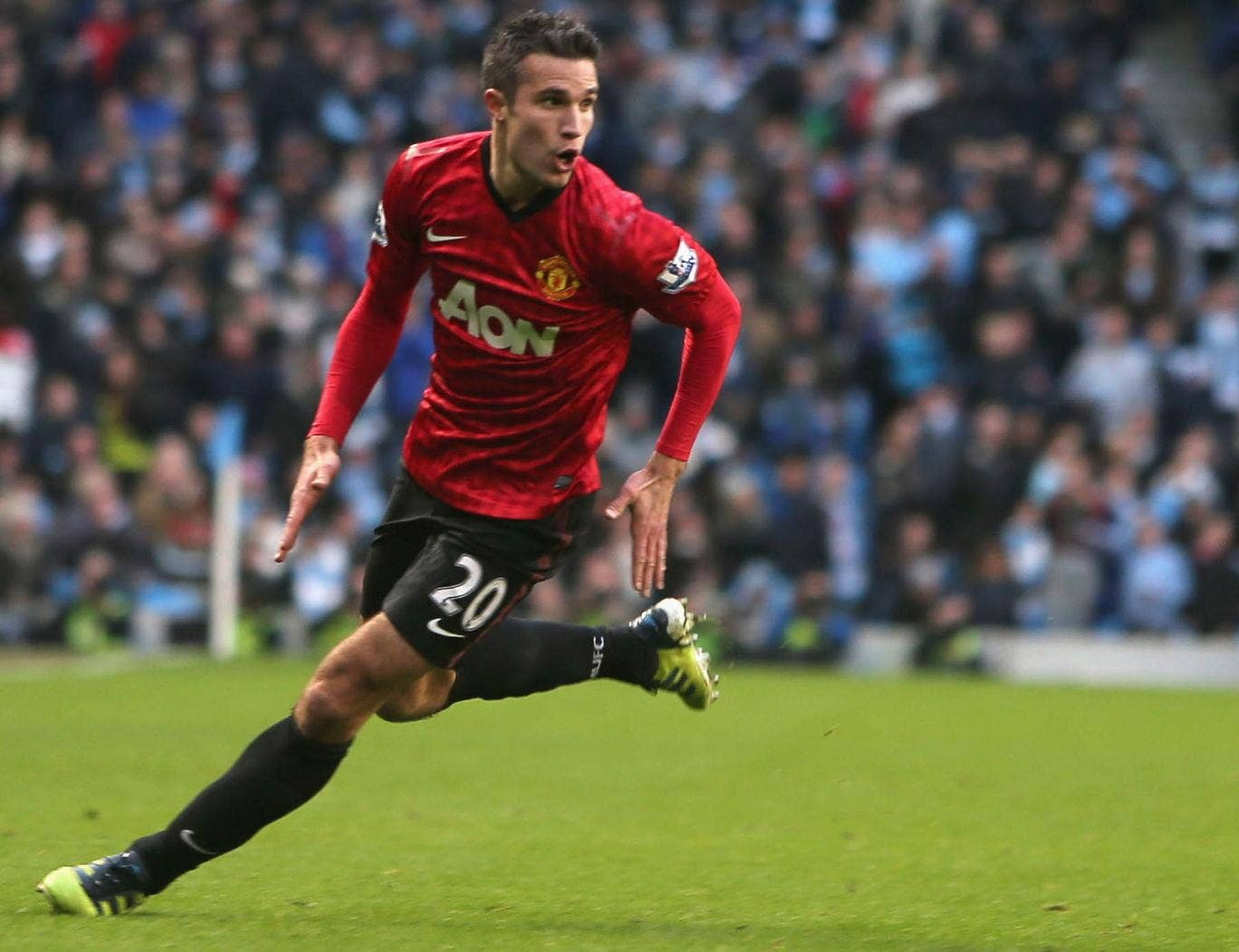 Roberto Mancini believes the failure to land Robin van Persie might cost Manchester City the title