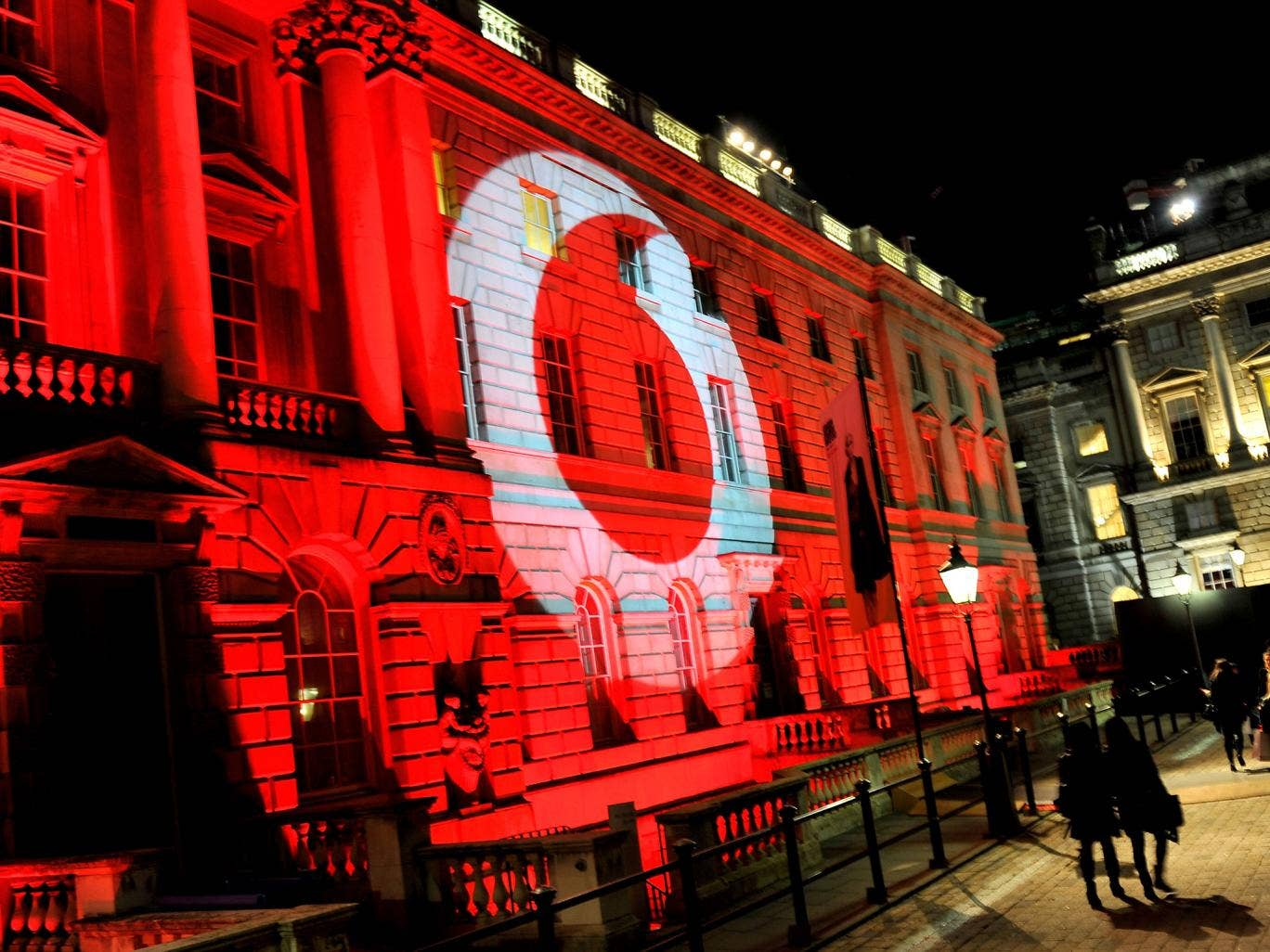 Vodafone sponsored London Fashion Weekend at Somerset House last February