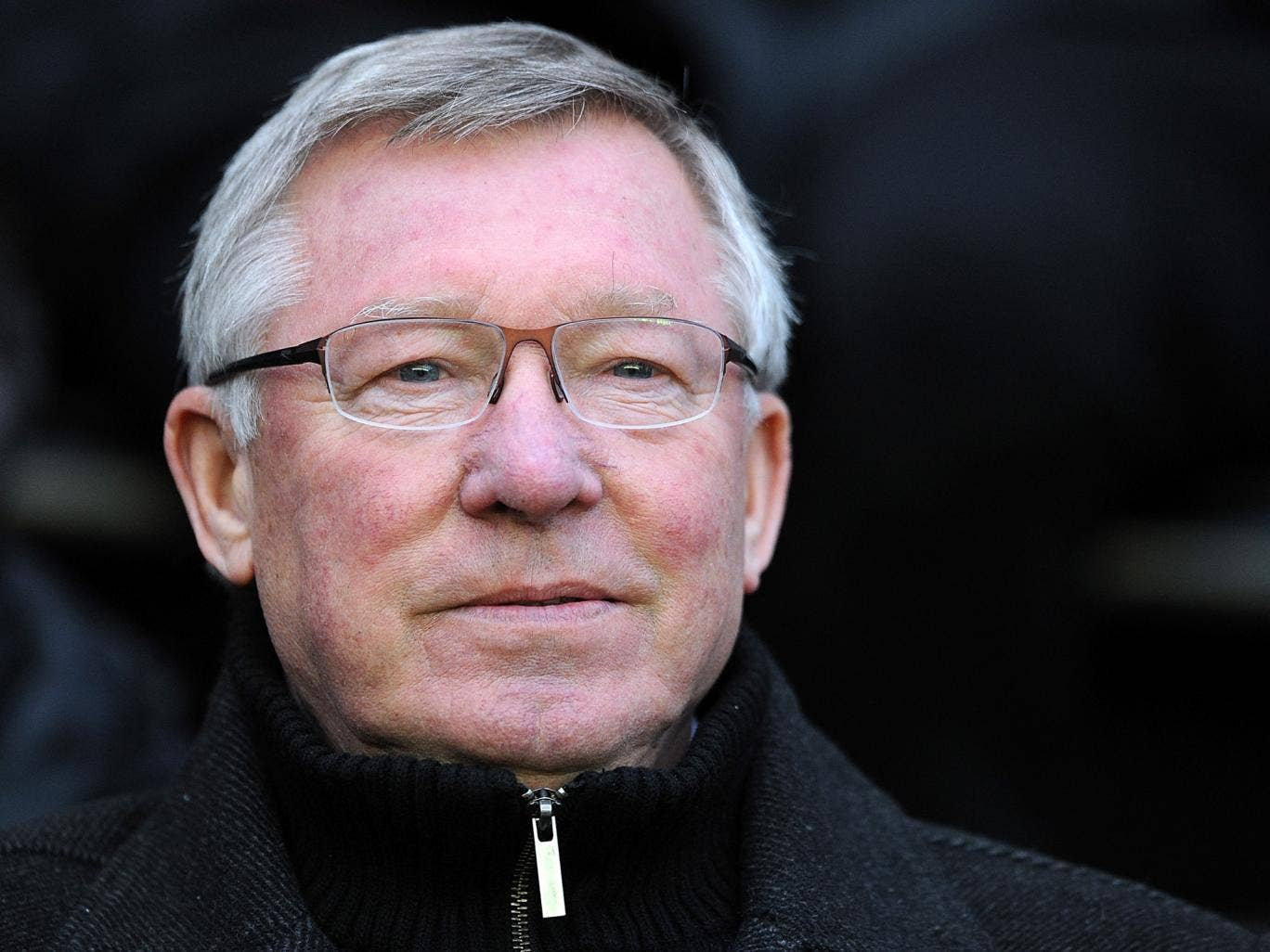 Ferguson insists he is staying put 'for a bit of time'