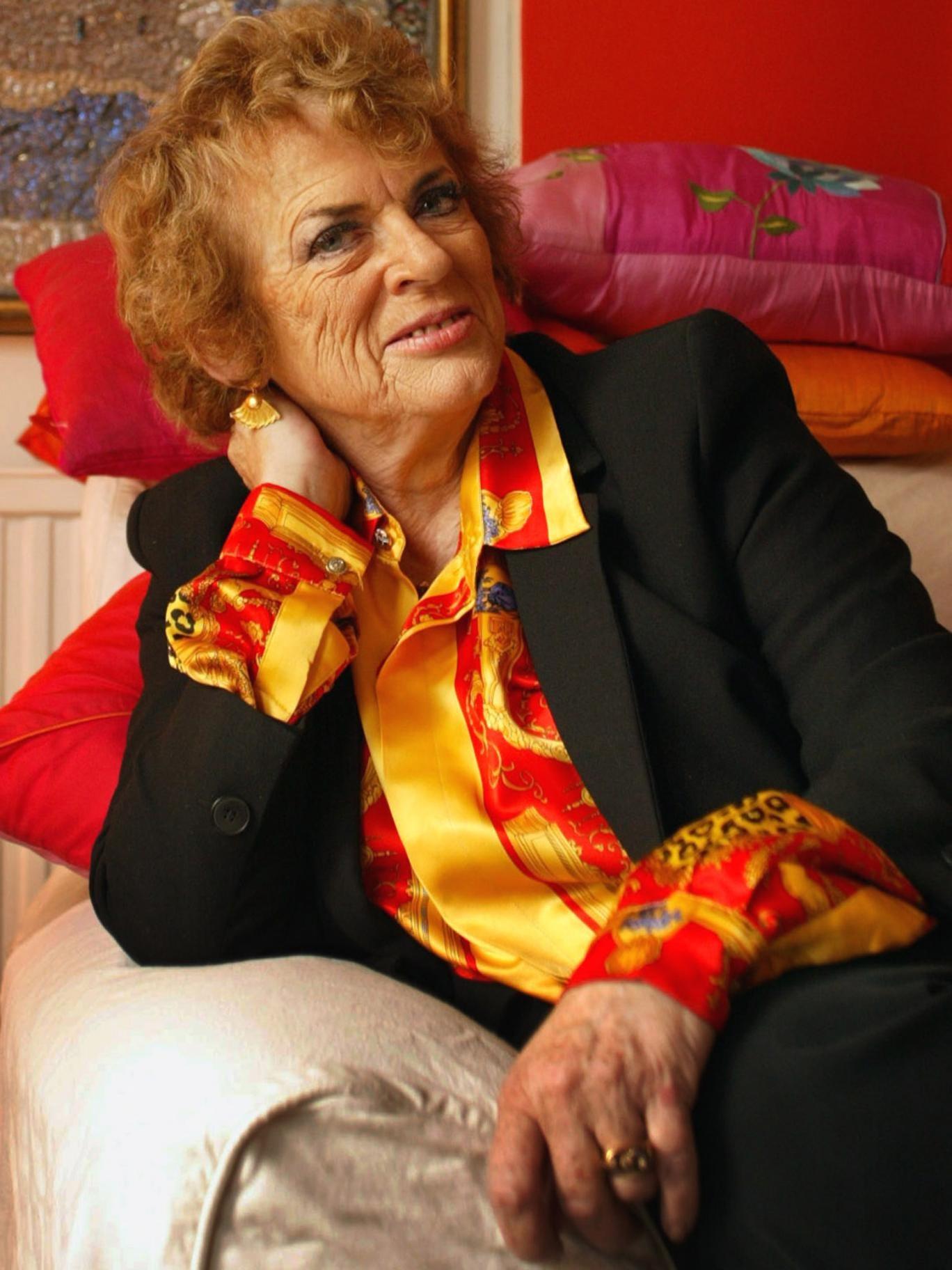 Ready to kick butt: Dame Ann Leslie