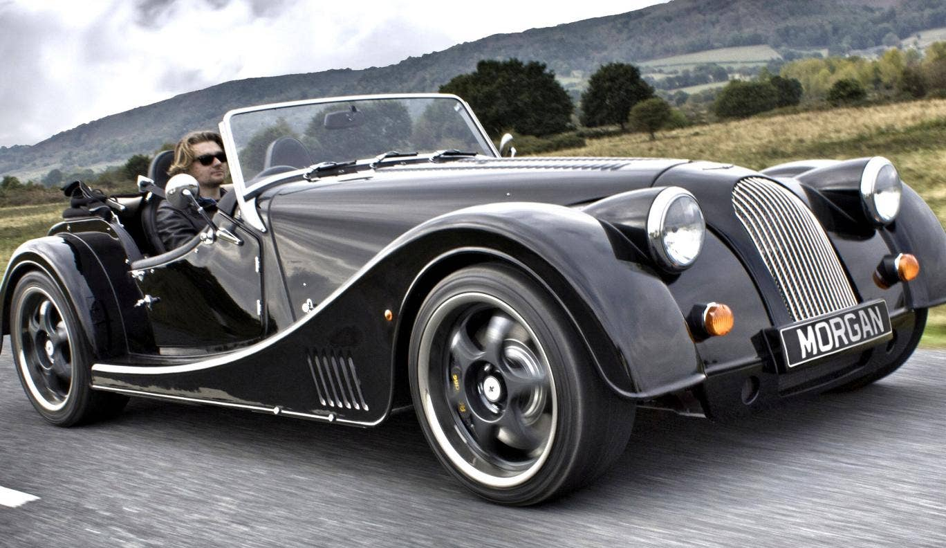 The Morgan Plus 8 is totally bonkers but still a magical thing