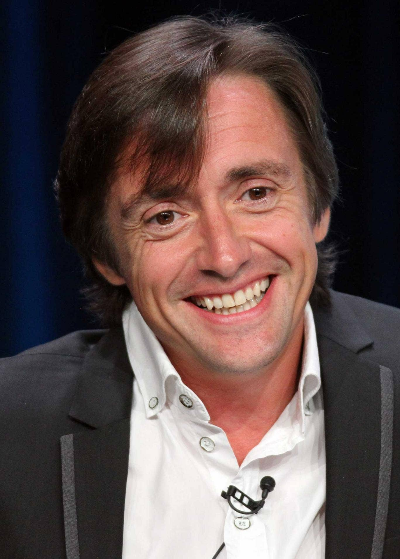 Hammond says: 'There are many things I wish I had never worn...I'm hardly renowned for my dress sense.'