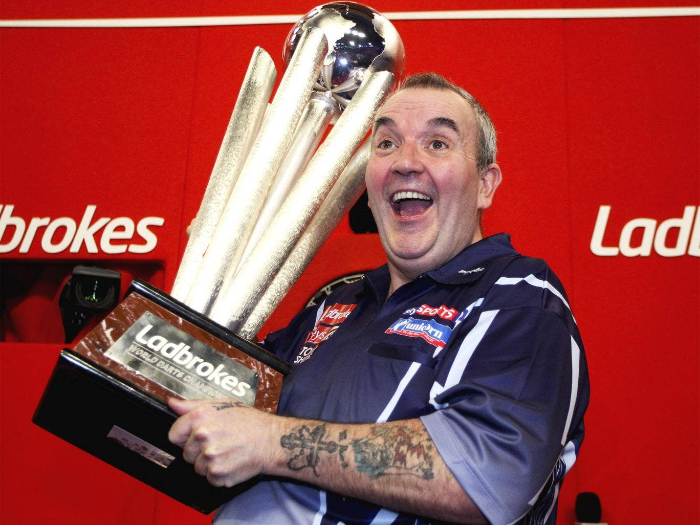 'It's what I do,' Phil Taylor said of his comeback to win a 16th title