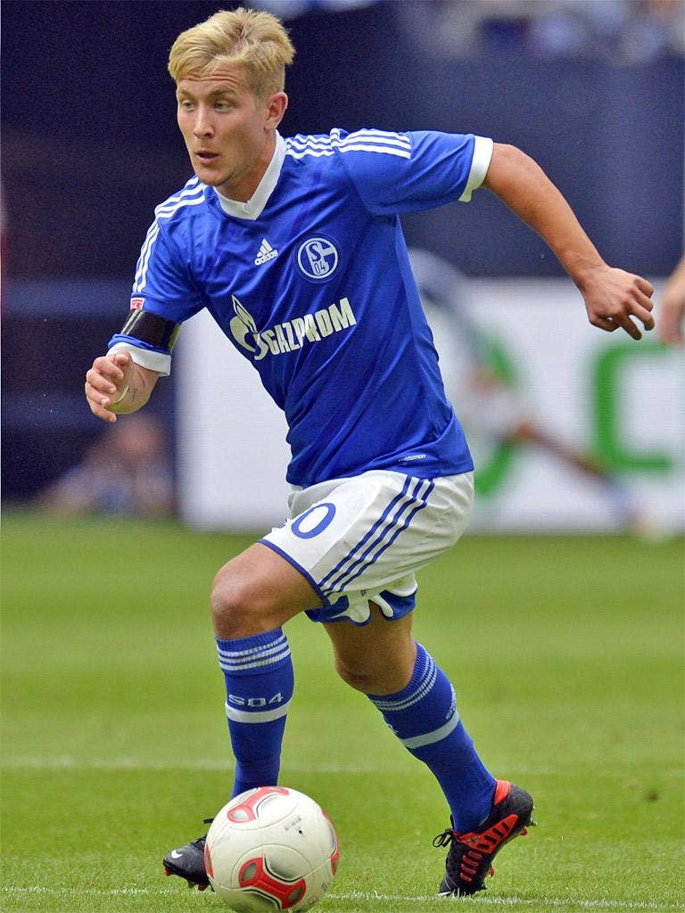 Lewis Holtby's preference is for a club offering European football