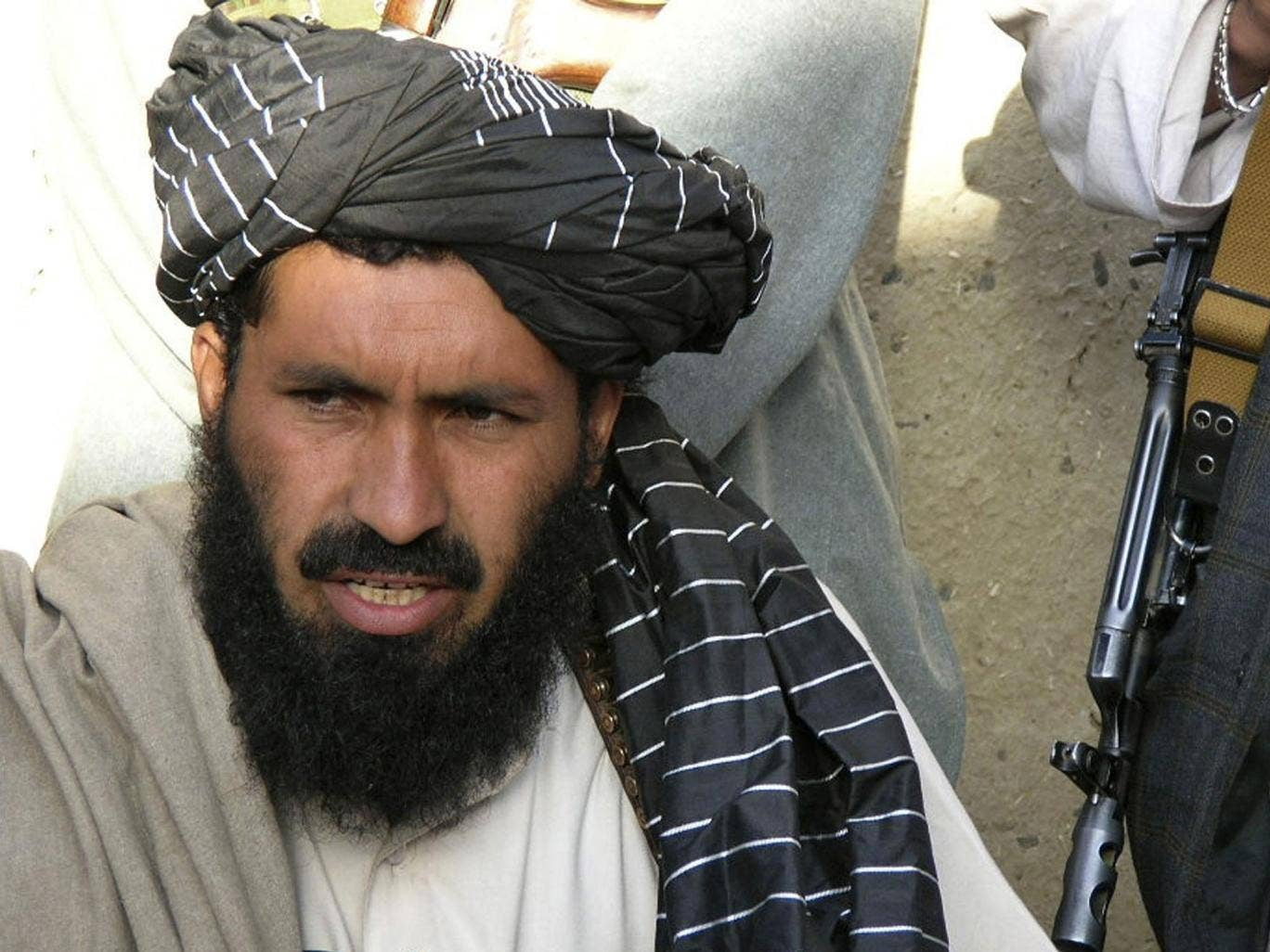 Maulvi Nazir was reportedly among nine people killed in the first strike in the village of Angoor Adda in South Waziristan