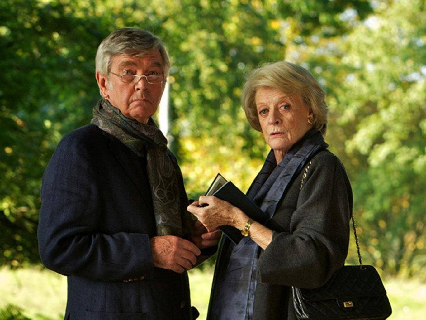 Same old story: Tom Courtenay and Maggie Smith in the feeble Dustin Hoffman-directed 'Quartet'