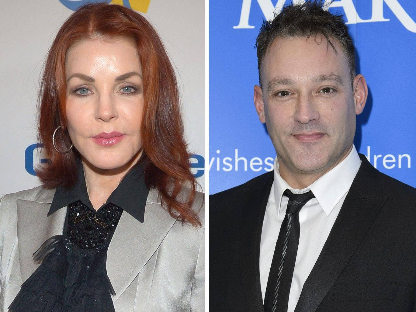 Representatives of both Priscilla Presley and television presenter Toby Anstis were forced to deny that the two were loving each other, tenderly or otherwise