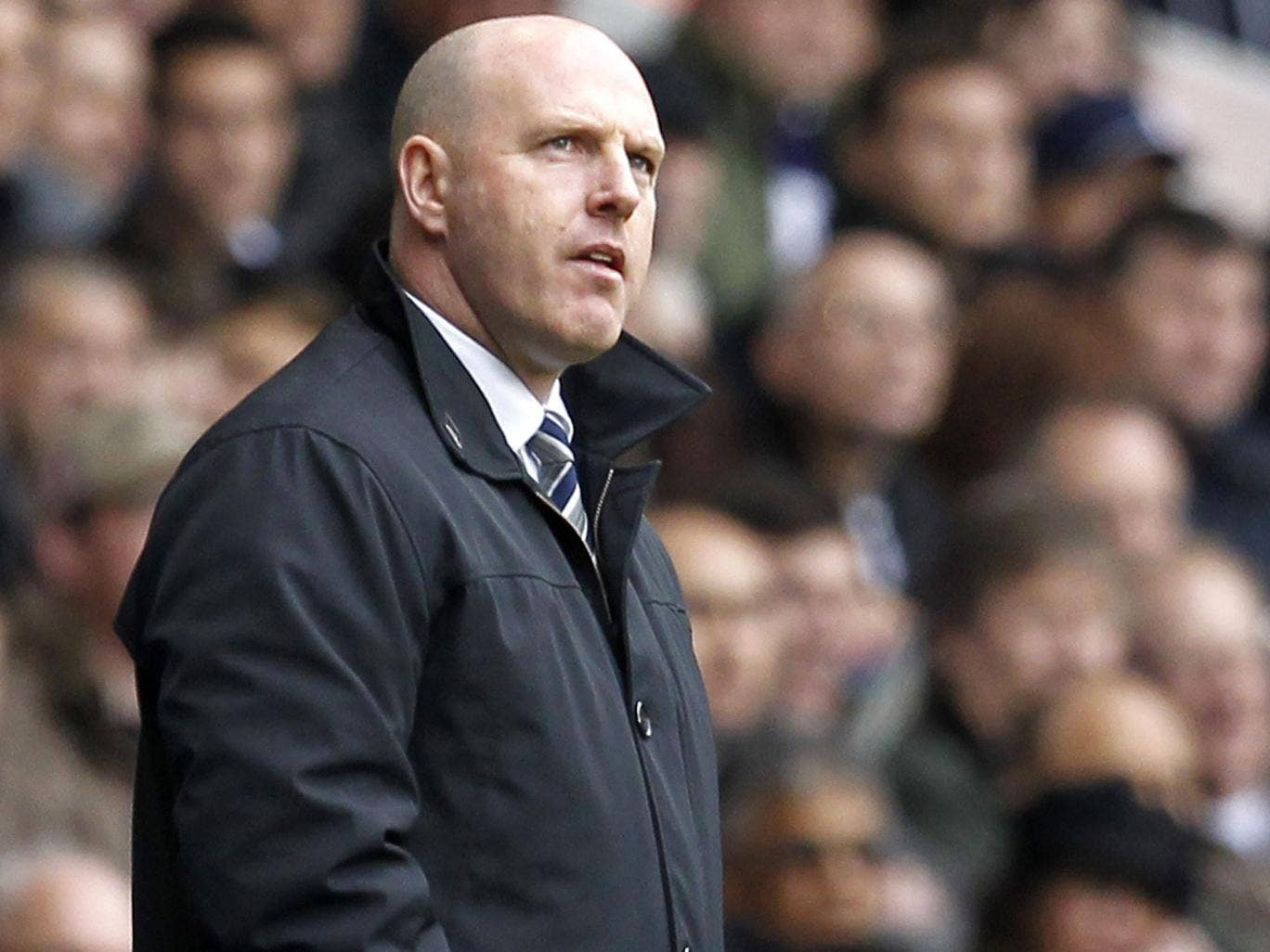 Steve Kean came and never left as quickly as he was supposed to – 'a couple of months'