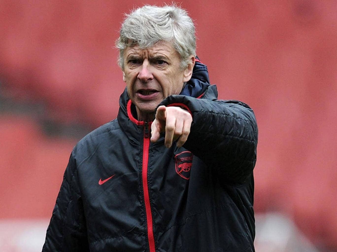 """Wenger: """"When a guy has no name people are always sceptical. So it's more difficult"""""""