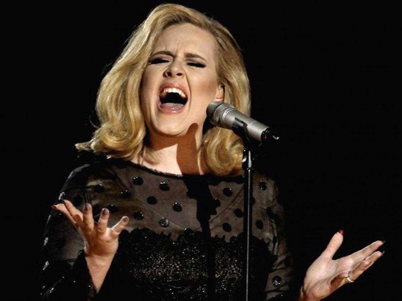 Adele's 21 has topped the US album chart for a second year