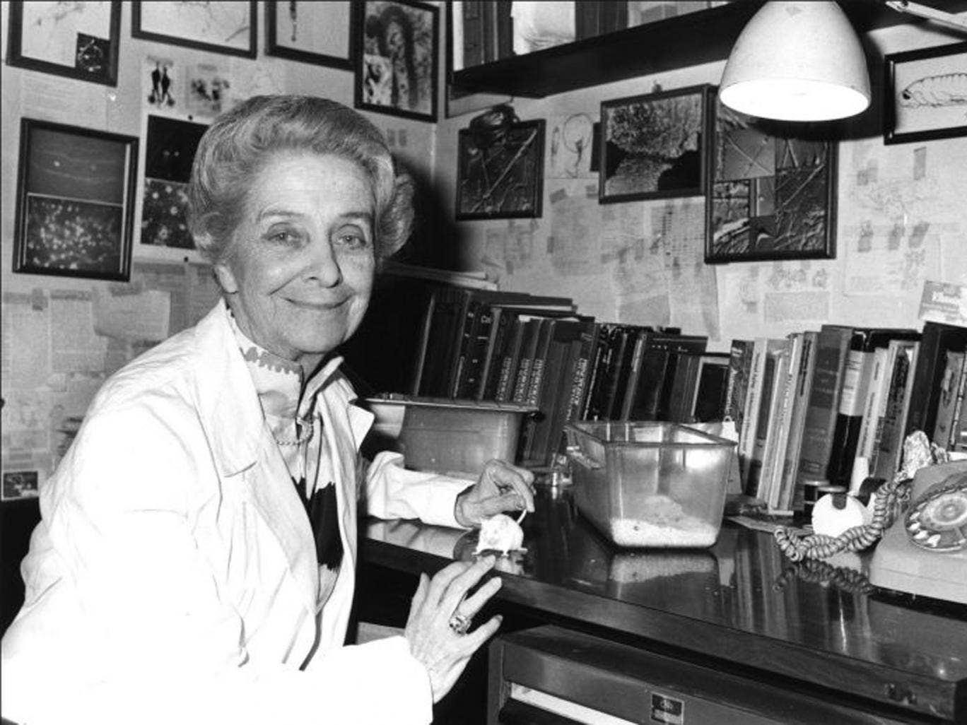 Levi-Montalcini: she attributed her success partly to 'the habit of underestimating obstacles'