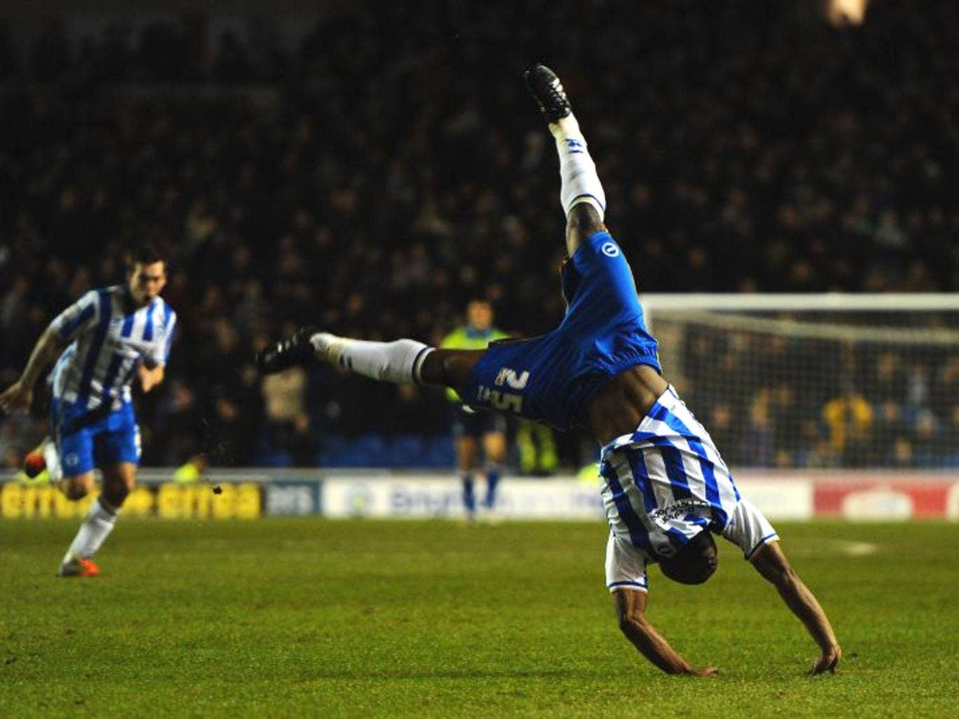 Kazenga LuaLua's goal celebrations have been banned by the club doctor