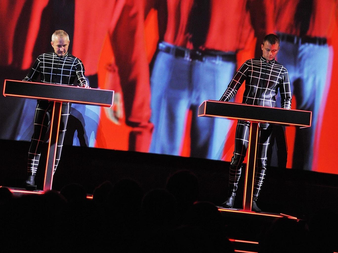 Electronic pioneers Kraftwerk
