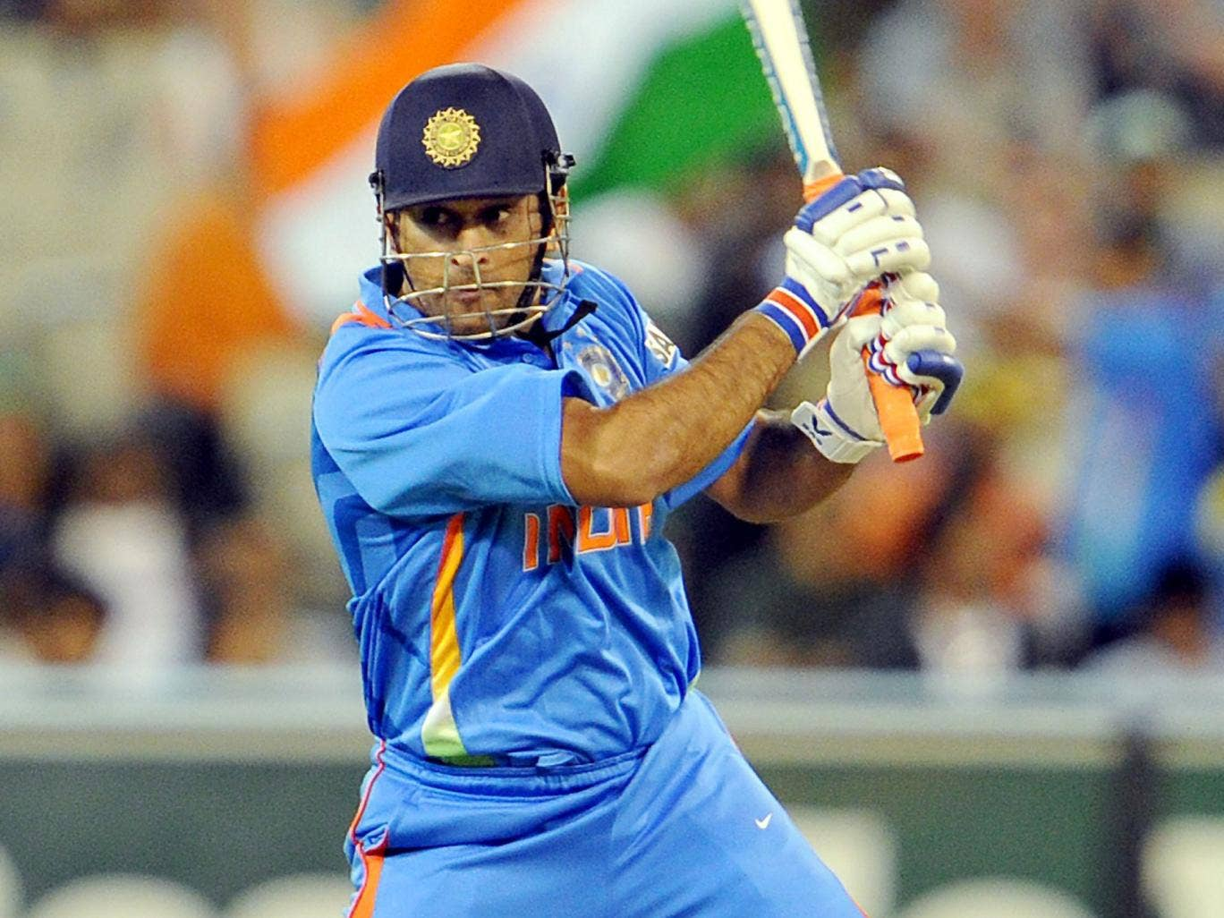 About to be Cut? MS Dhoni's batting isn't in doubt but his leadership qualities are as India face another loss