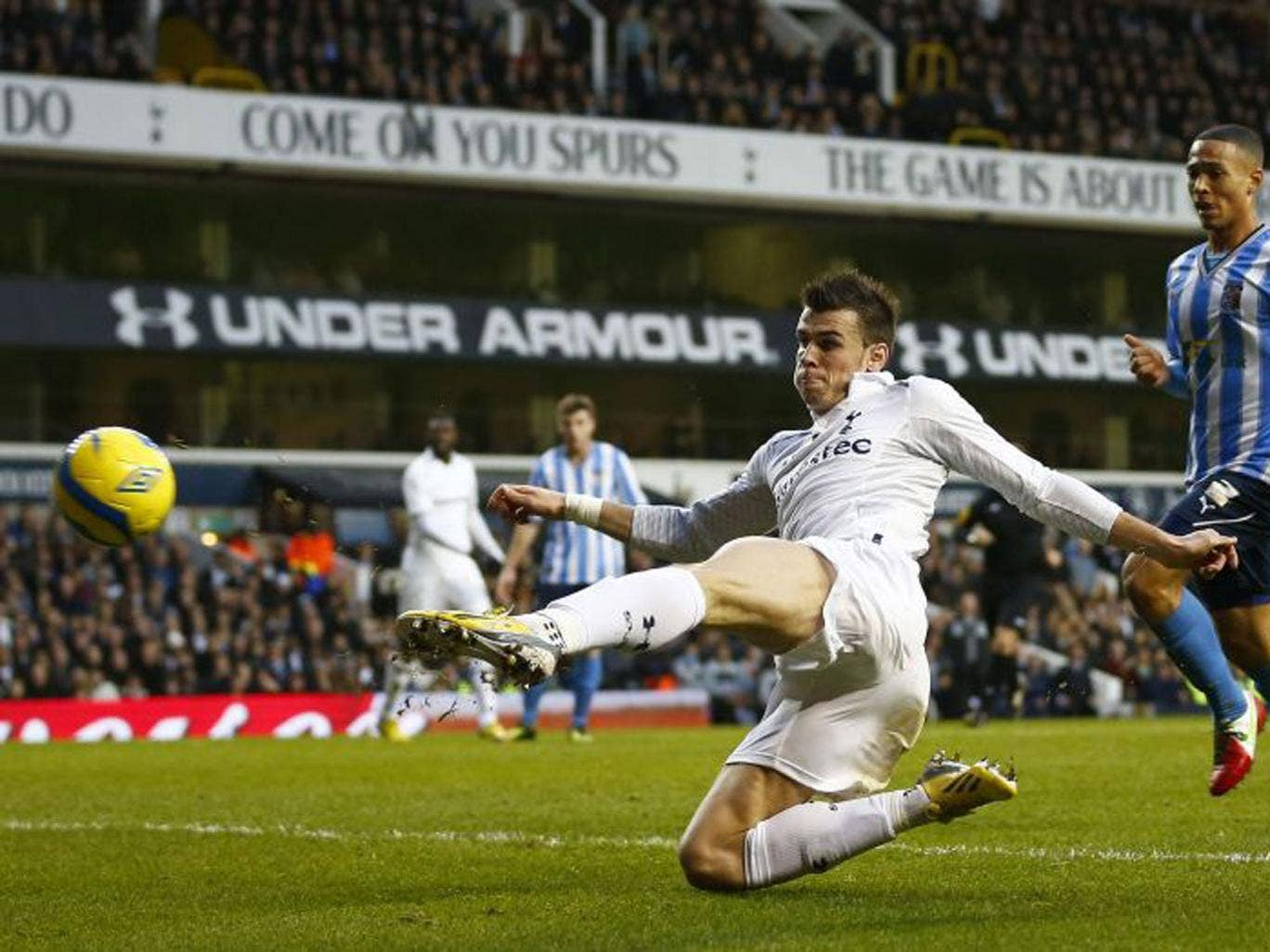 Gareth Bale makes it 2-0 in Tottenham's stroll into the FA Cup fourth round