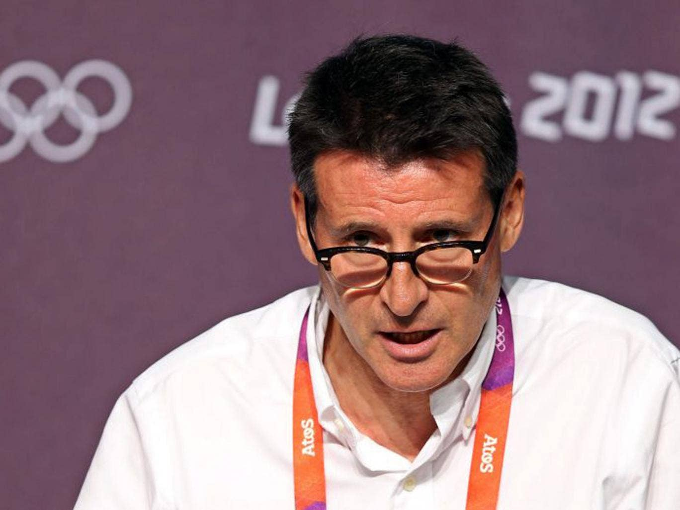 Lord Coe urged the public to secure items from the Games