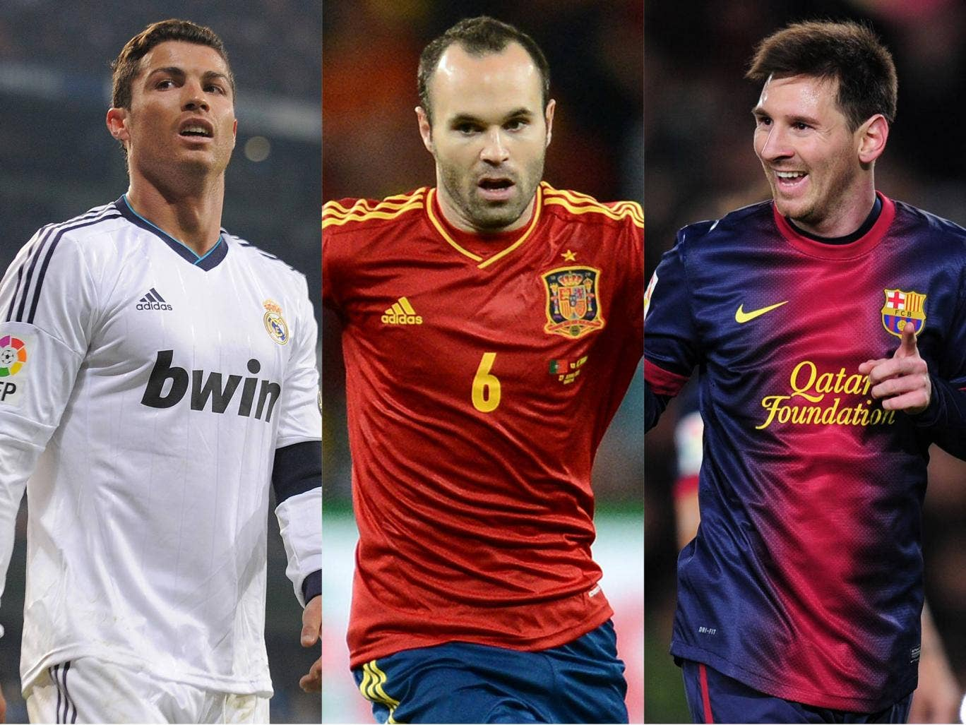 The Ballon D'Or contenders