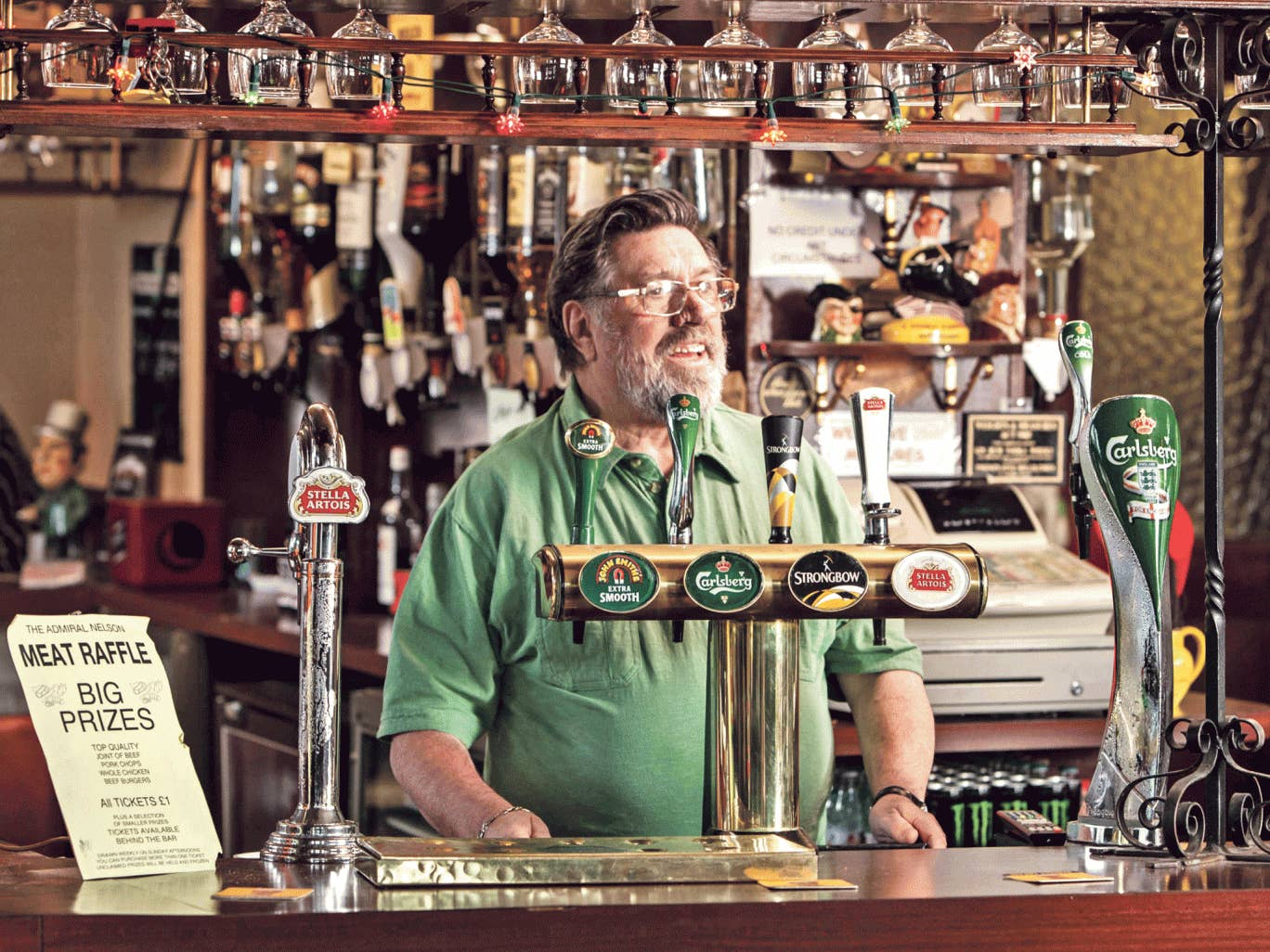 Called to the bar: Ricky Tomlinson in 'Great Night Out'