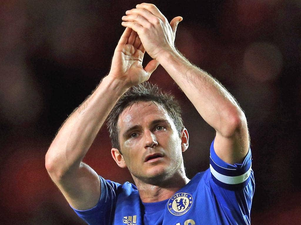 Frank Lampard has played 571 games for Chelsea