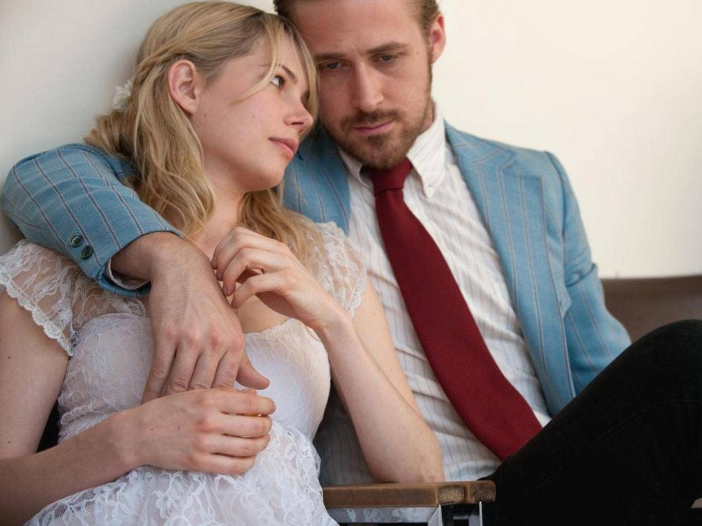 Ryan Gosling with Michelle Williams in Blue Valentine