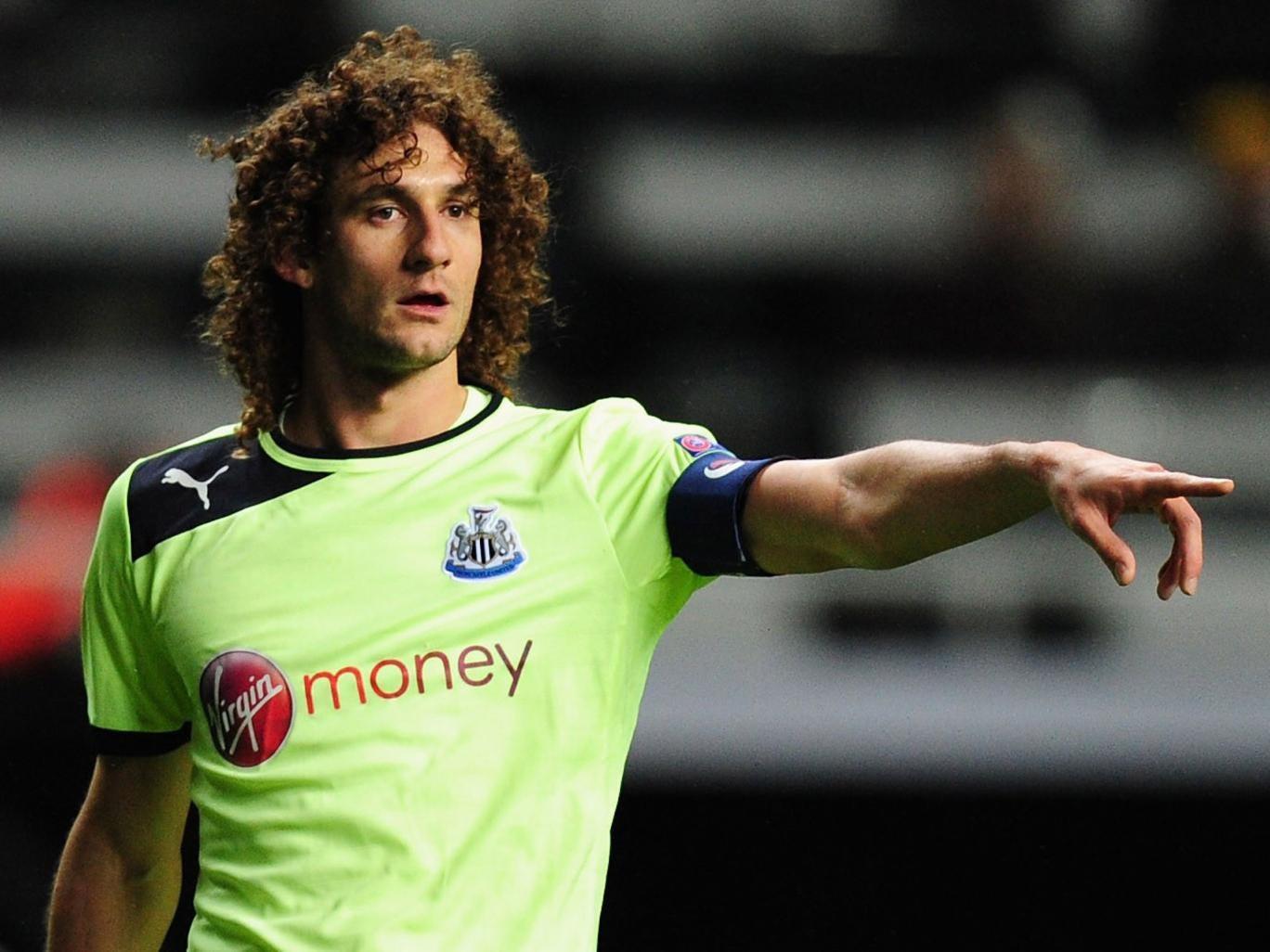 Newcastle captain Fabricio Coloccini wants to leave St James' Park