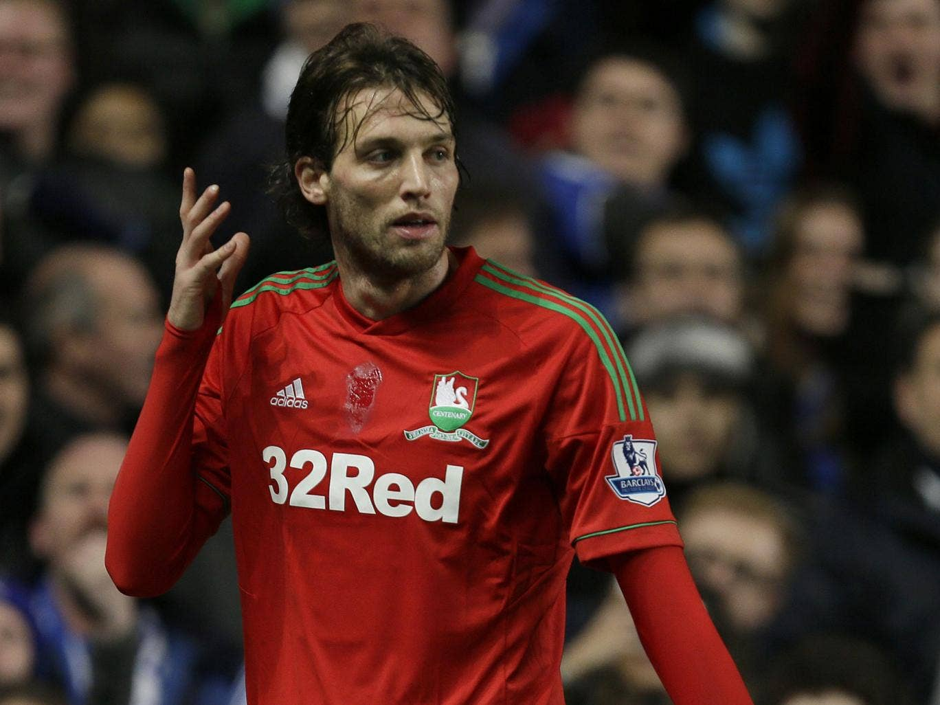 Michu: Has scored 16 goals in 25 games for Swansea this season