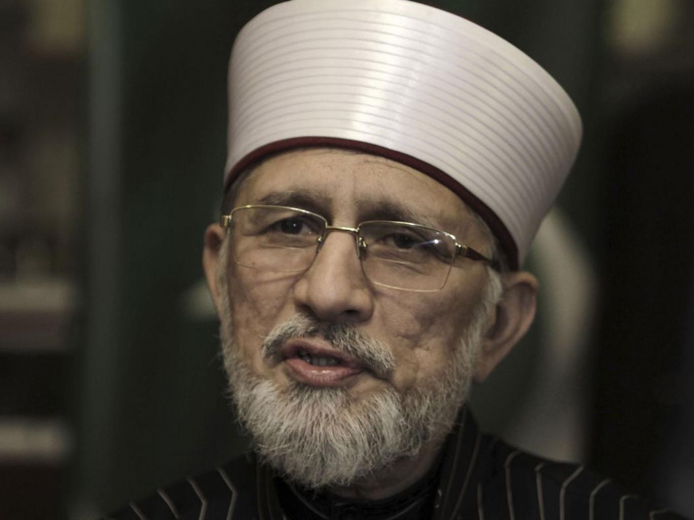 Tahir ul-Qadri is planning to lead a huge march on Islamabad