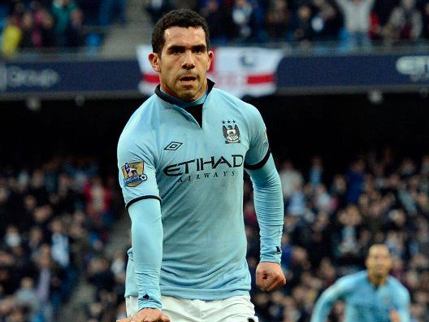 Carlos Tevez has 18 months left on his current deal with City
