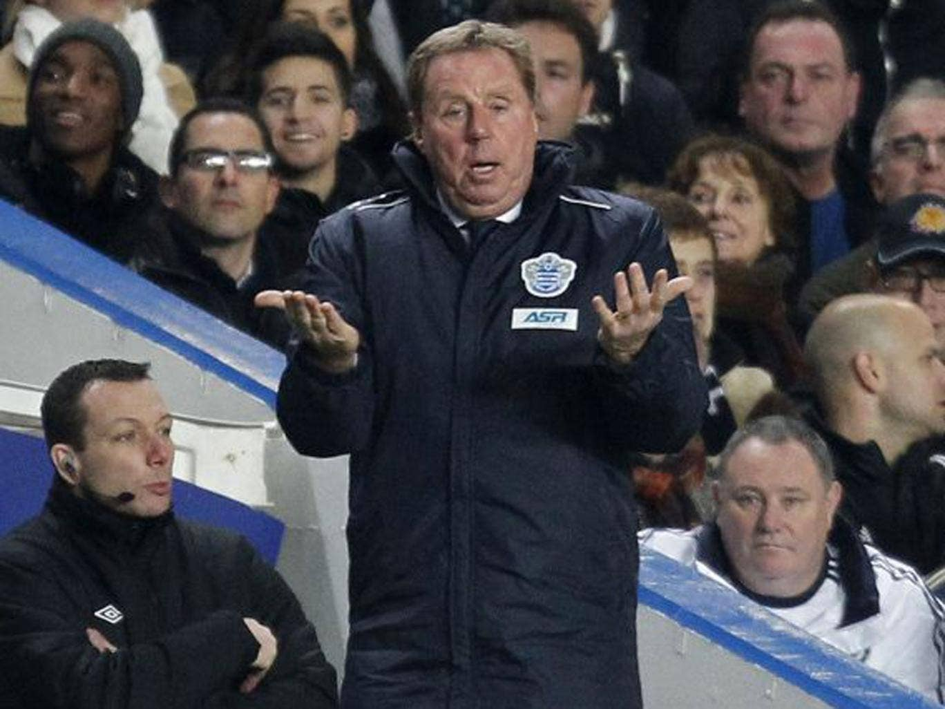 Redknapp's tactics are beginning to bring an improvement to  QPR's results
