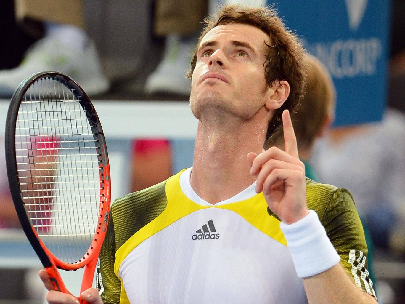 Murray is second favourite, behind Novak Djokovic, to win the Australian Open