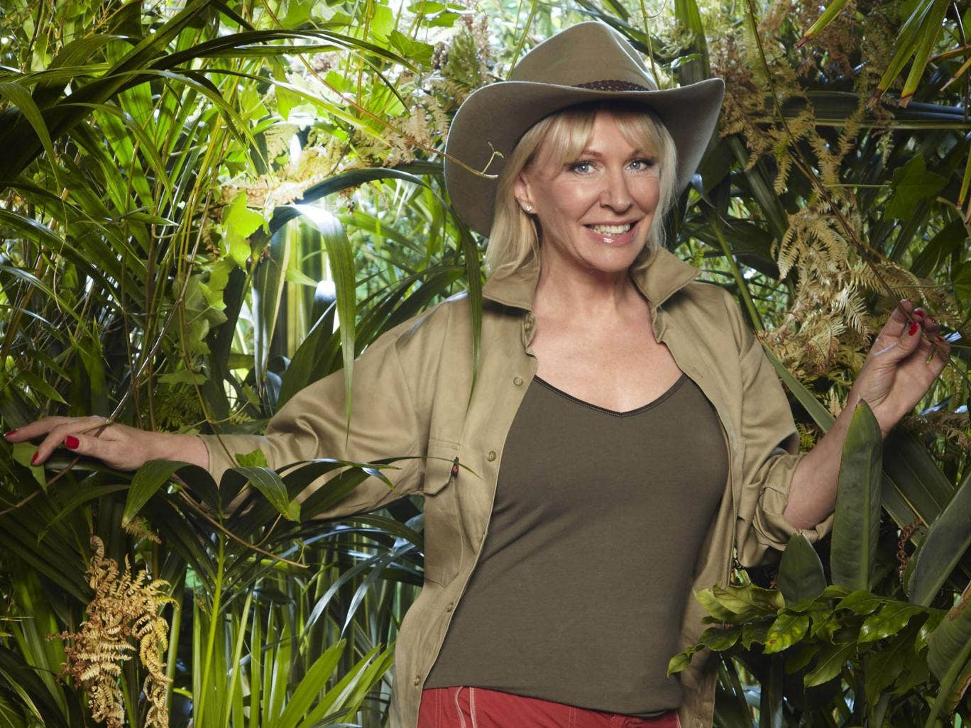 Nadine Dorries in the jungle last year