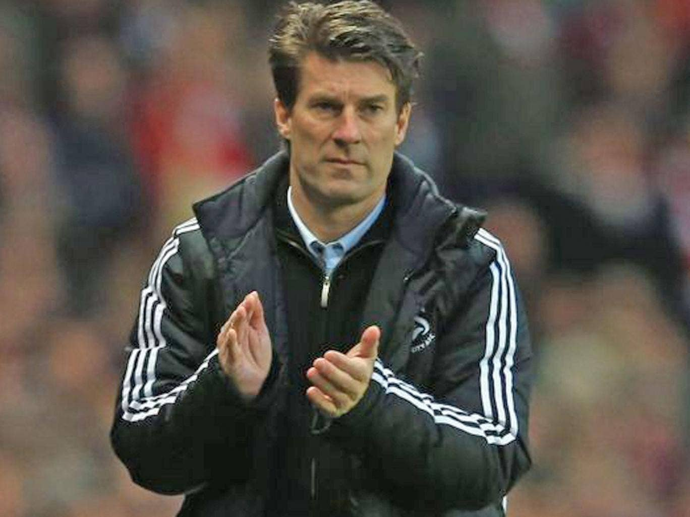 Michael Laudrup has shrugged off suggestions that he could be the man to replace Jose Mourinho should the Portuguese's contact with Real Madrid be terminated in the summer