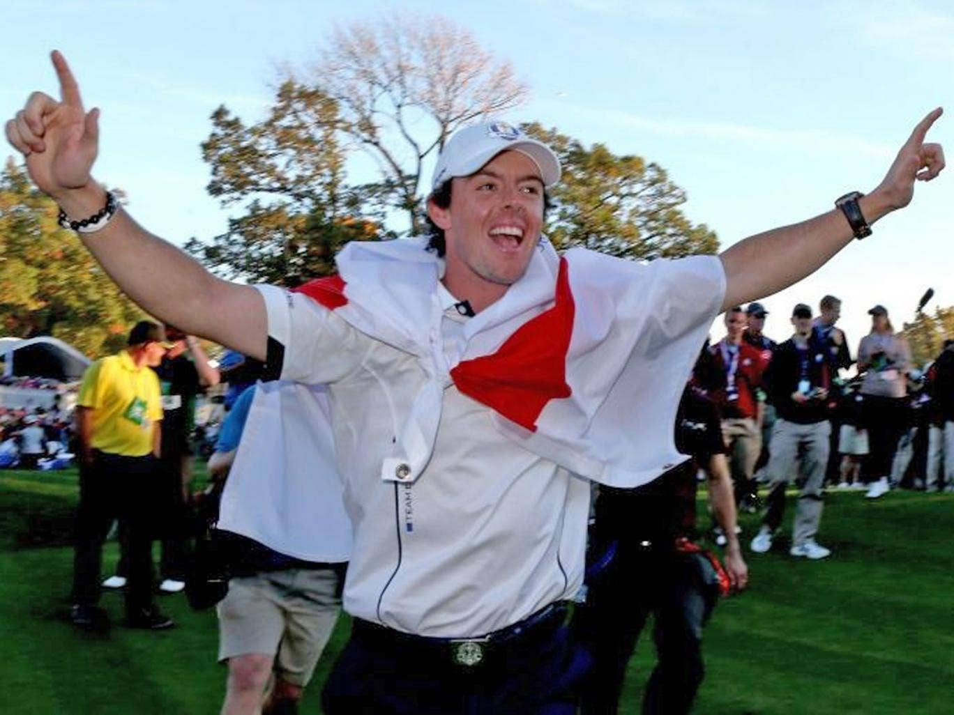 McIlroy's image was enhanced by Europe's Ryder Cup victory last year