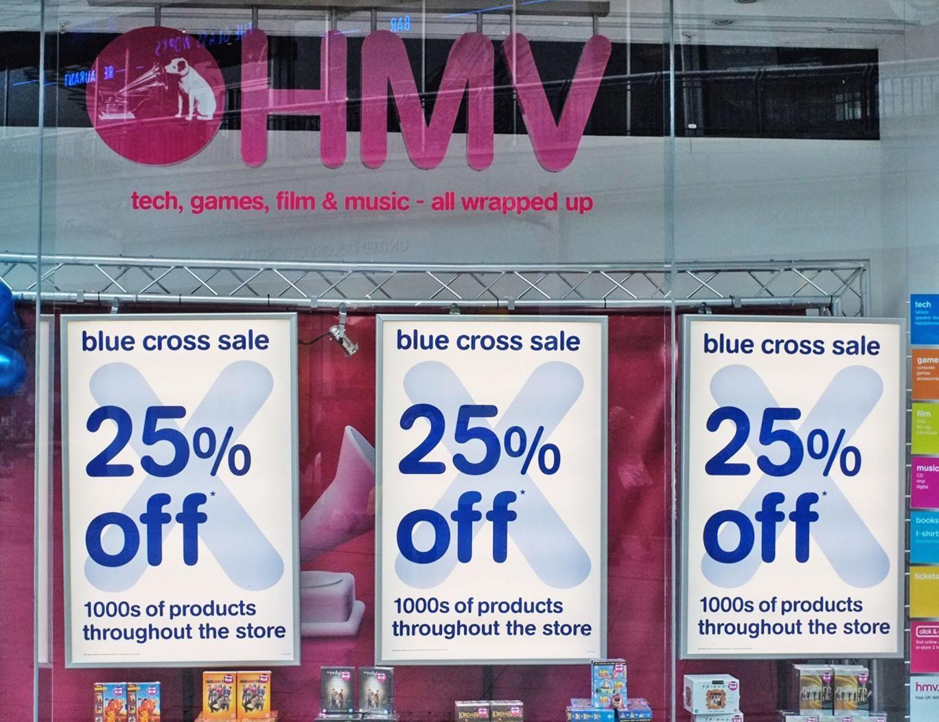 HMV is set to enter administration, sources say